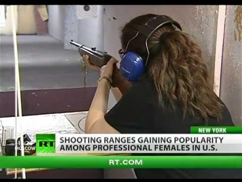 Shoot'n'Shmooz: Glam chicks trigger NY weapons fashion