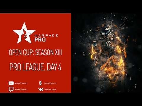 Open Cup: Season XIII Pro League. Day 4