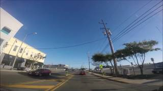 Driving from Long Branch - NJ to Highlands - NJ recorded with GoPro