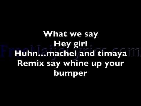 Lyrics: Timaya – Bum Bum (Soca Remix) ft. Machel Montano | FreeNaijaLyrics.com