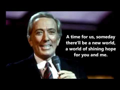 A Time For Us  ANDY WILLIAMS (with Lyrics)