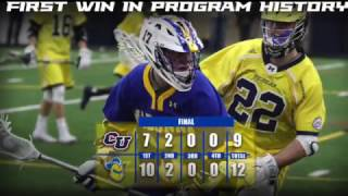 Men's Lacrosse - First Win in Program History