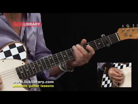 Status Quo - Rain - Rhythm Guitar Performance by Rick Parfitt [Licklibrary]