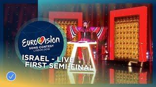 Video Netta - Toy - Israel - LIVE - First Semi-Final - Eurovision 2018 MP3, 3GP, MP4, WEBM, AVI, FLV September 2018