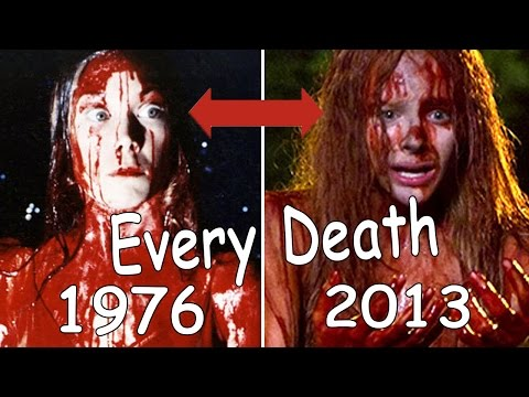 Every Death in Carrie(2013) Vs Carrie (1976)