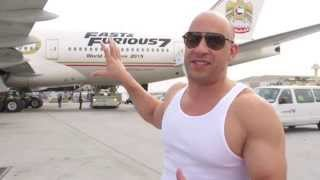 Nonton Furious 7: Vin Diesel & The Fast & Furious 777 Airliner Kicks Off World Premiere Film Subtitle Indonesia Streaming Movie Download