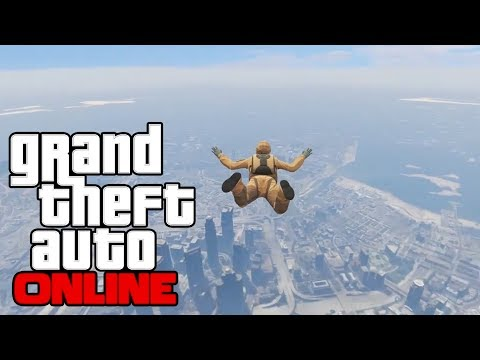 GTA Online - Don't Let Me Die Teammate (GTA 5 Online PS4 Multiplayer Gameplay)