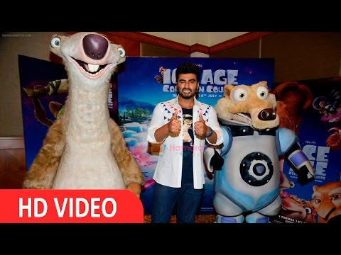 Interview With Arjun Kapoor For Film Ice Age Collision Course