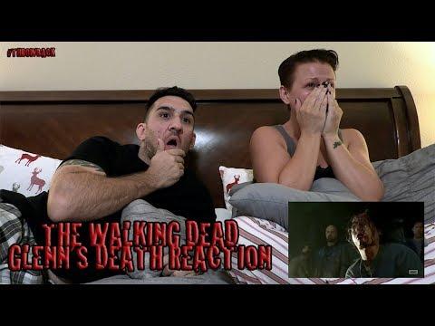 Negan takes out Glenn reaction - throwback to season 7 episode 1 | The Walking Dead