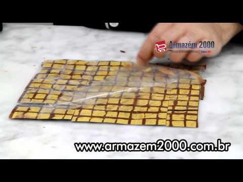 Transfer para Chocolate Personalizado - 60 Folhas 28 x 38 cm