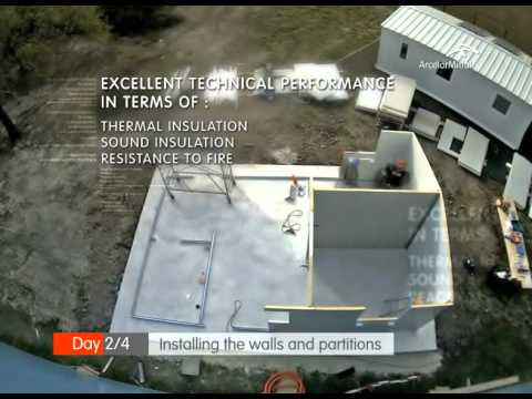 Protea Lowcost housing prototype construction