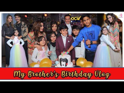 My Brother's Birthday Vlog | Ft. @Official Asmi Sharma @Mr Mrs Narula