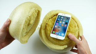 Video Don't Drop Your iPhone 6S in an Expanding Sponge Ball! MP3, 3GP, MP4, WEBM, AVI, FLV Juni 2017