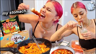 Sm0ke & Eat with Me! (KOREAN FOOD) by Simplynessa15
