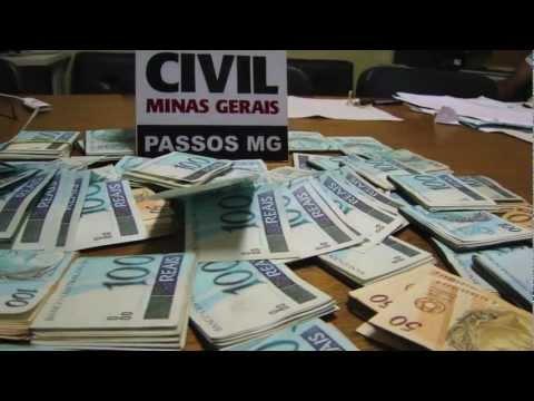 TV Clic Folha - Polícia Civil encontra R$ 50 mil enterrados em Passos