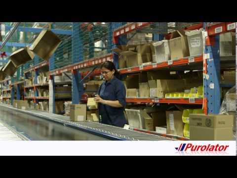 Purolator Logistics™ - Warehouse/order fulfillment segment  video
