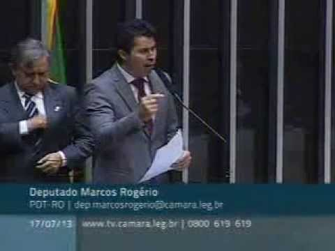 Deputado Marcos Rogério cobra benefício provisório ao trabalhador na ausência de perito