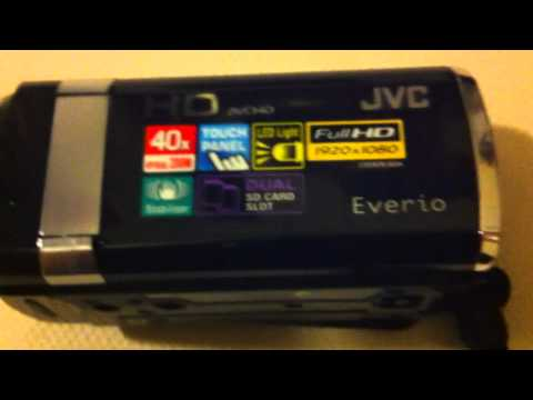 JVC HD Everio GZ-HM445 unboxing and test