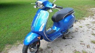 10. 2015 Vespa Sprint 150 cc