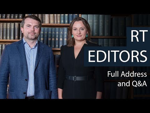 RT Editors | Full Address and Q&A | Oxford Union