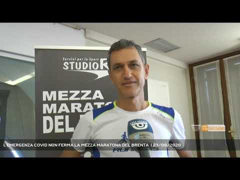 L'EMERGENZA COVID NON FERMA LA MEZZA MARATONA DEL BRENTA    23/09/2020