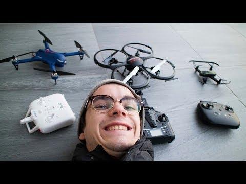 ECCO 3 DRONI ECONOMICI E PER PRINCIPIANTI