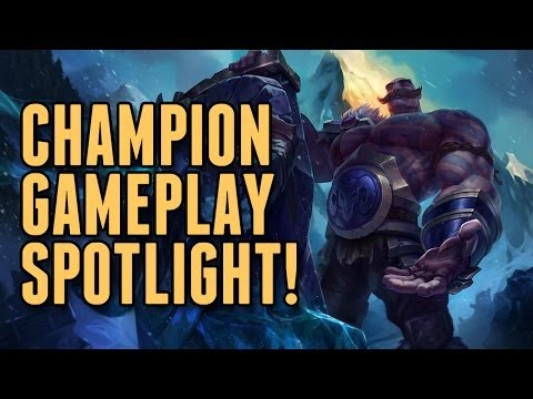 Lol - Full Braum The Heart of Freljord Champion Spotlight (League of Legends / LoL Abilities Guide) SUBSCRIBE and join the League of Legends confederacy! http://www.youtube.com/subscription_center?add_u...