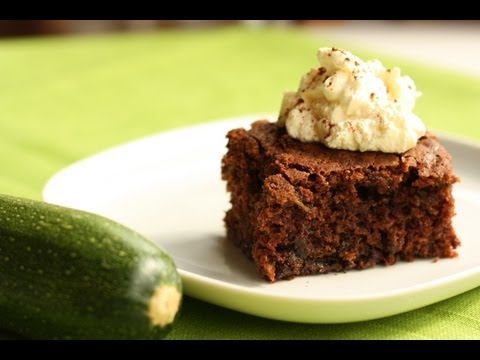 Gluten Free Chocolate Zucchini Treat