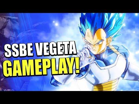 LIMIT BREAK! SUPER SAIYAN BLUE EVOLUTION VEGETA MOVESET DLC 9 GAMEPLAY! | Dragon Ball Xenoverse 2