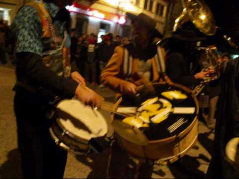 kumpania Algazarra - Carnaval 2010 - Canas de Senhorim, Viseu