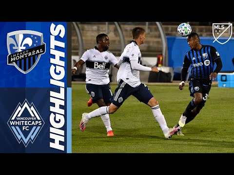 Montreal Impact vs. Vancouver Whitecaps FC | August 25, 2020 | MLS Highlights