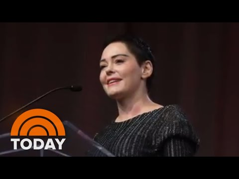 Rose McGowan Distances Herself From Asia Argento In New Statement | TODAY