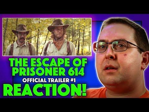 REACTION! The Escape of Prisoner 614 Trailer #1 - Ron Perlman Movie 2018