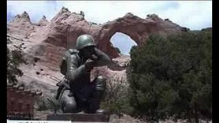 Window Rock (AZ) United States  City new picture : Veteran's Memorial in Window Rock, Arizona .U.S.A.