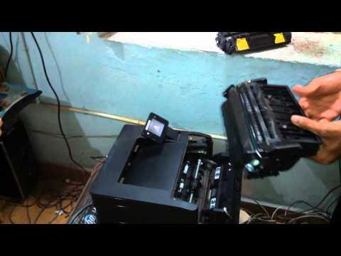 How to fix 80X toner Cartridge in HP 401 LAser jet printer in Nadakacheri