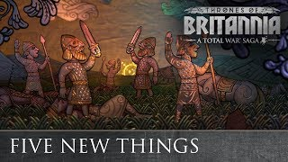 Total War Saga: Thrones of Britannia -Five new things