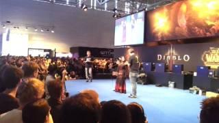 Gamescom 2011 Blizzard Cosplay Contest - World of Warcraft Human Demonist - 20.08.2011