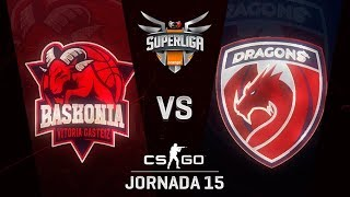 THUNDERX3 BASKONIA VS DRAGONS E.C. - MAPA 1 - SUPERLIGA ORANGE - #SUPERLIGAORANGECSGO15