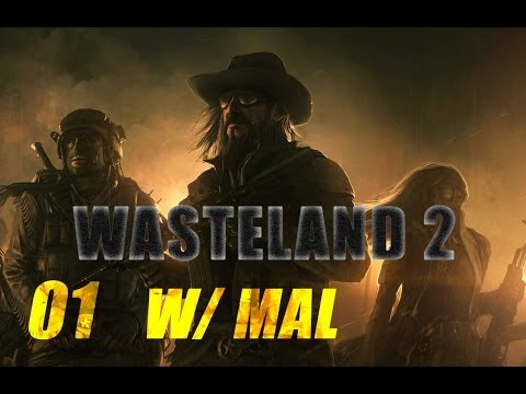 Wasteland 2 Early Beta Let's Play - Part 1 Character Creation