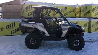 7. 2012 Canam Commander 1000XTSnorkeled Radial Outlaws PPSM Team Build