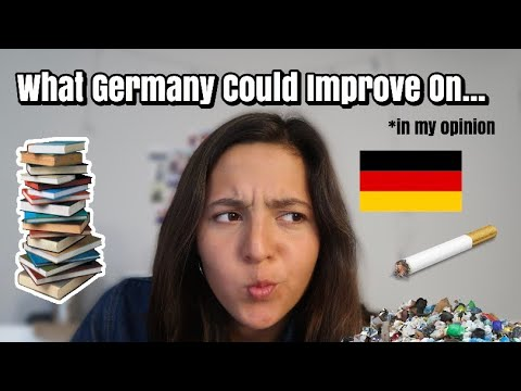 Things Germany Could Improve