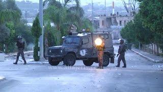 لحظة الاستهداف المباشر لطاقم الفجر الجديد من قبل قوات الاحتلال