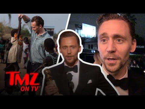 Tom Hiddleston on Tom Hiddleston's Globes Speech | TMZ TV (видео)