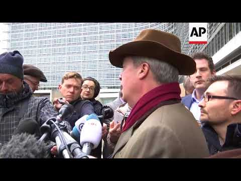 UK MEP Farage comments after meeting Barnier
