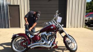 10. 2008 Harley-Davidson Rocker C FXCWC! A chopper you can live with!