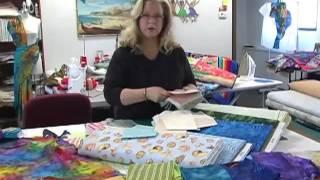 Luana Rubin's Pastel Batik Ideas from Seattle at eQuilter Studio