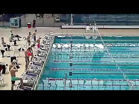 Benyamin gharehhasanlo بنیامین قره حسنلو مسابقات قهرمانی کشور جوانان شنا