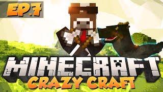 """Minecraft """"BASILISK BOSS BATTLE"""" - CRAZY CRAFT Modded Survival - Ep. 7 ( Minecraft Crazy Craft )"""