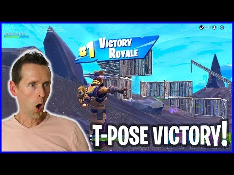 T-Pose Hay Man Victory!