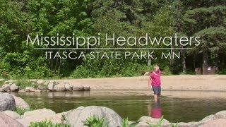 Bemidji (MN) United States  City pictures : Mississippi Headwaters; Itasca State Park MN
